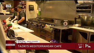 We're Open Green Country: Taziki's Working To Support Employees