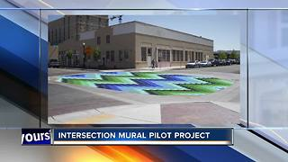 Boise intersection to see road mural - Video