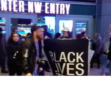 Stephon Clark: Protesters Rally at Golden 1 Center, Delaying Kings Game