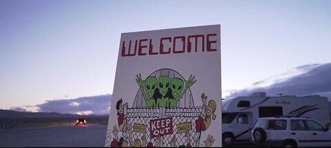 Crowds gather in Hiko for Area 51 Basecamp