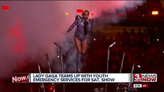 Lady Gaga to feature Youth Emergency Services group at concert - Video