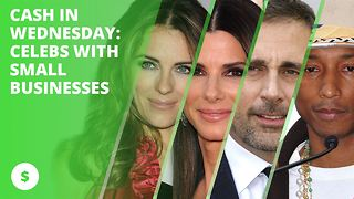 Cash In Wednesday: celebrities who own small businesses