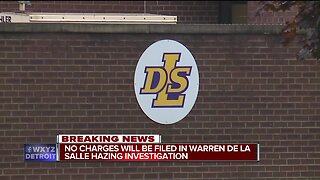No charges will be filed in Warren De La Salle hazing investigation