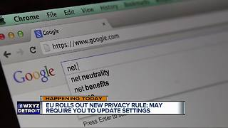 Here's why you're getting emails about privacy from companies in your inbox - Video