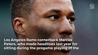 Notorious Anthem Protester Marcus Peters Sends Direct Message To His Critics - Video