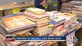 Friends of Johnson County Library hosts annual fall book sale - Video