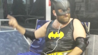 A Guy Dressed As Batgirl Sings A Pop Song - Video