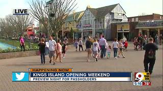 Kings Island opening weekend - Video