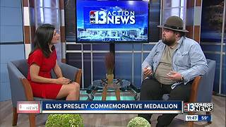 Chumlee presents new Elvis commemorative coin - Video