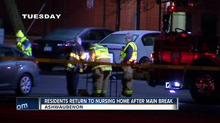 Residents return to nursing home - Video