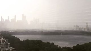 Timelapse Shows Storm Rolling Over Manhattan - Video