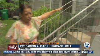 Glades preparing ahead Hurricane Irma - Video