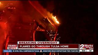 Firefighters respond to house fire on East 2nd Street - Video