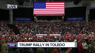 President Donald Trump, Vice President Mike Pence to appear at rally in Toledo tonight