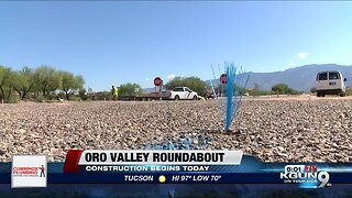 Oro Valley new roundabout construction starts Wednesday