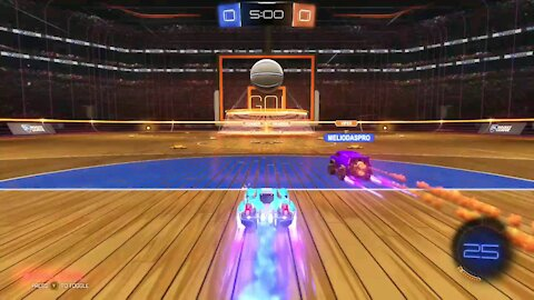 Plaing rocket league for the first time with my friend !!!