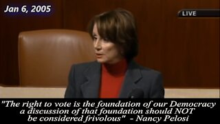 Nancy Pelosi Thinks We Should Question Election Integrity