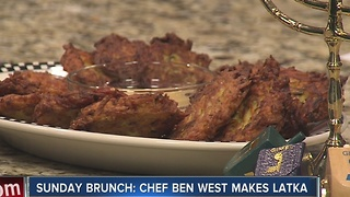 Chef Ben West from La Villa Restaurant makes Potato Latka - Video