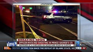 Prince George's County police involved shooting - Video