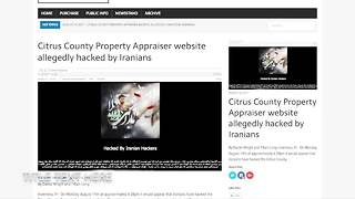 Hackers target local tax appraiser websites | Digital Short - Video