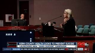 Kern County officials push suicide prevention - Video