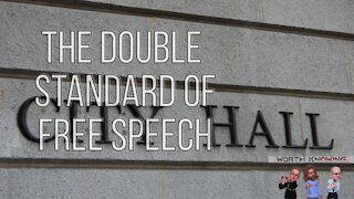 """Worth Knowing - Episode 14 - The Double Standard of """"Free"""" Speech"""