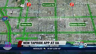 New app makes rides safe for students - Video