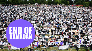 Muslims from around the world gathered in Birmingham for the largest Eid celebration - Video