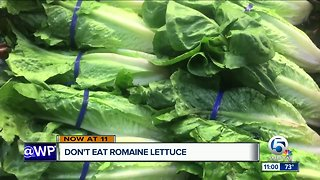Health officials: Don't eat romaine lettuce due to a new E. coli outbreak