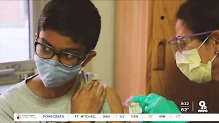 Cincinnati 12-year-old takes part in COVID-19 vaccine trial