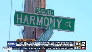 Man dies after being shot in Canton Saturday night - Video