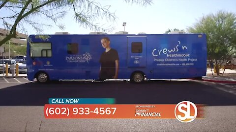 Crews'n Healthmobile at Phoenix Children's takes medical care to the streets