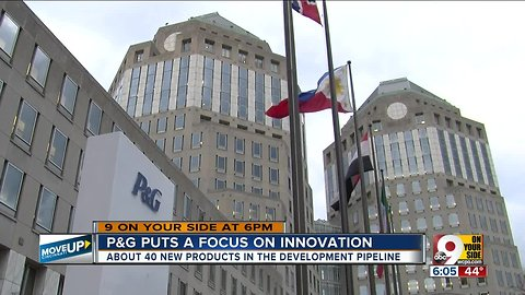P&G puts a focus on innovation