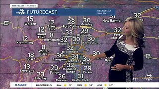 Wednesday morning weather update