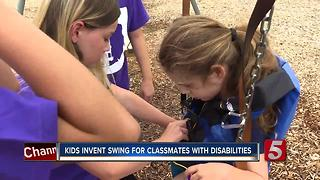 Murfreesboro Students Create 'E-Z Swing Suit' To Help Kids With Special Needs - Video