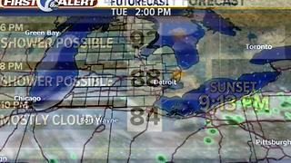 Tuesday afternoon forecast - Video