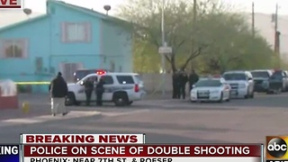 One person killed in south Phoenix shooting Saturday morning - Video