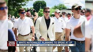 White national extremist set to speak at University of Florida - Video