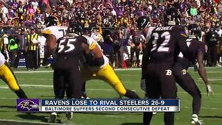 Steelers beat Ravens 26-9 in first-place duel - Video