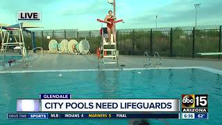 Glendale hiring lifeguards for the summer - Video