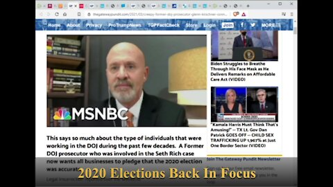 2020 Elections Back In Focus
