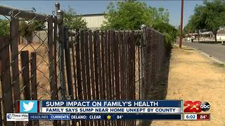 Sump impact on family's health - Video