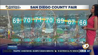 10News Pinpoint Weather for Sat. June 9, 2018 - Video