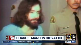 Convicted killer Charles Manson dead at 83 - Video