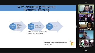 KCPS lays out plan to reopen schools for in-person learning