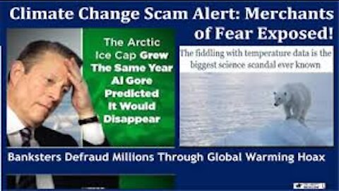 THE CLIMATE CHANGE HOAX AND ITS ORIGINS