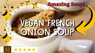 How to make vegan French onion soup