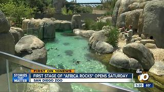 "San Diego Zoo opens ""Africa Rocks"""