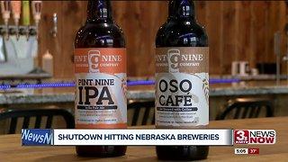 Shutdown hitting Nebraska breweries