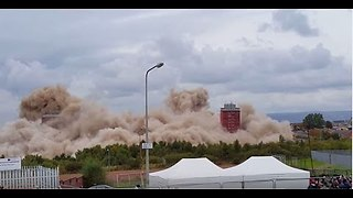 Demolition fail! || Viral Video UK